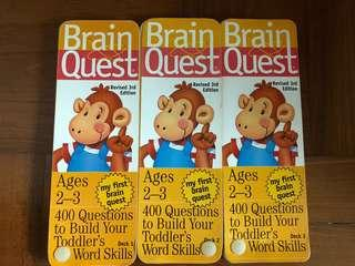 Brain Quest Revised 3rd Edition Age 2-3