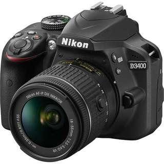 Nikon D3400 get kredit tanpa kartu kredit langsung 3 menit