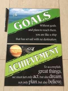 Motivational Posters: Goals / Achievement