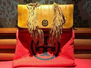 Tory Burch Fringe Clutch AUTHENTIC