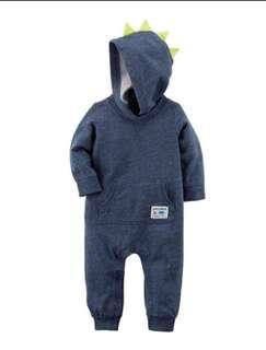 *6M* Brand New Carter's Spike Jumpsuit For Baby Boy