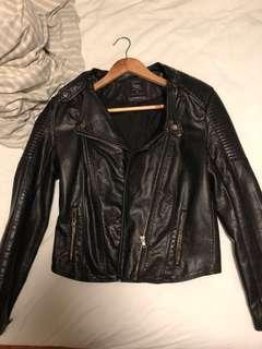 Brand new (PU) leather jacket