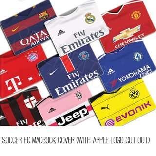 Soccer FC Macbook Cover