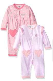 *6M* Brand New DKNY Coveralls For Baby Girl