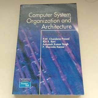 Computer System Organization and Architecture (P.W. Chandana Prasad..)