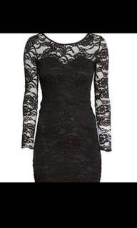 H&M Bodycon Lace Dress