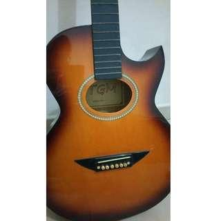 Old / Cheap Acoustic Guitar | Brand: TGM