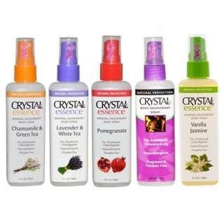 Crystal Body Deodorant Spray