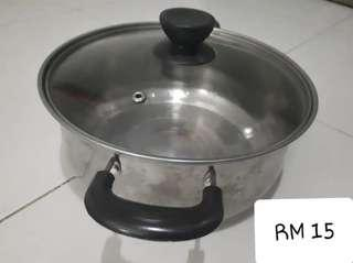 Induction pot with lid