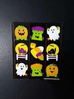 [INSTOCK] BN Small Halloween Friends Stickers (Carson Dellosa)