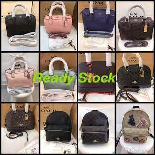(15/10/18)Ready Stock Original Coach Part 1 women Handbag Wallet Tory Burch Micheal Kor