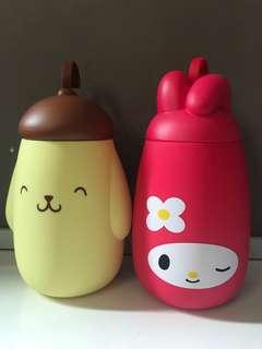 Sanrio Lock n Go Collection: Ice Pop Bottle ( My Melody & Pompompurin )