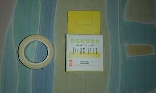 To Do List Masking Tape