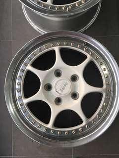 Enkei RS Ori Japan 2pc 16 inch 5x114.3 Rims