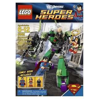 LEGO® DC Universe™ Super Heroes 6862 Superman™ vs. Power Armor Lex (Retired/MISB)