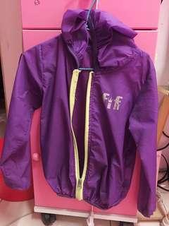 🚚 紫色防風防水遮陽外套