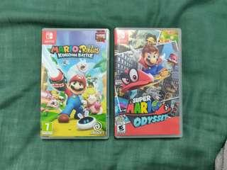 Trade Mario Odyssey Switch