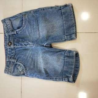 Denim Jeans shorts 2 yr old