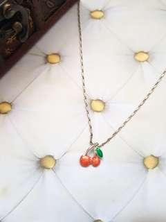 🆕️Cute Dainty Cherry Necklace