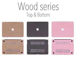 Wood Series Macbook Cover (Dual)