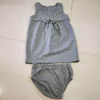Grey Dress for 12-18mth