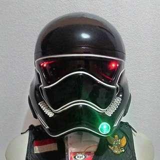 Stormtroopers starwars deathtroopers real bike helmet
