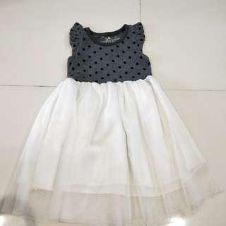 Grey tutu dress 18mth