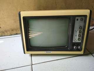 Jual tv monitor National antik