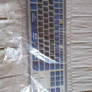 B.FRIEND  BR 1430 世界盃版本   藍芽  鍵盤