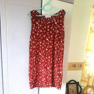 Velvet Melon mini skirt