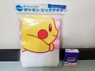 比卡超毛巾