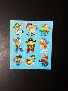 [INSTOCK] BN Small Pirates Stickers (Carson Dellosa)