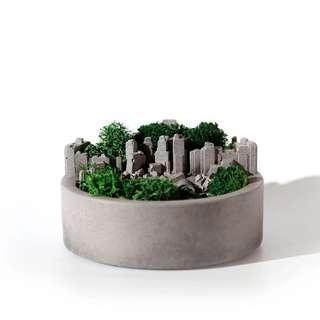 🚚 Cement plant pot