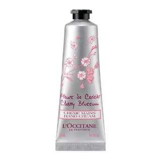 Loccitane Cherry Blossom Petal-Soft Hand Cream