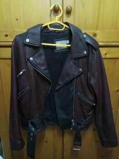 Leather Jacket皮褸 外套 購自asos
