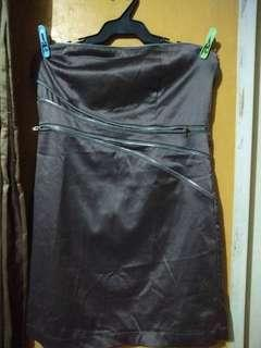 *FREE DELIVERY* Metallic Brown Dress