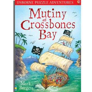 (Brand New) Mutiny At Crossbones Bay  [Puzzle Adventures]    By: Mark Burgess