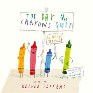 🚚 Brand New Book - The day the crayons quit