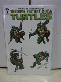 TMNT #1 SDCC 2018 Exclusive Comic Variant