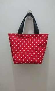 BN custom jujube black ruby tote bag