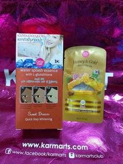 water splash 50g with honey serum mask