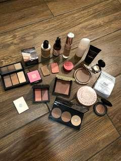High end make up face products