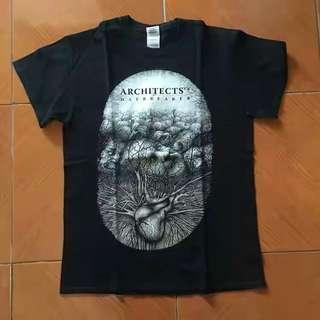 Kaos band (t-shirt) ARCHITECTS uk
