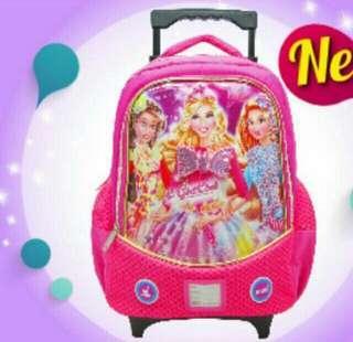 Swan Roll Trolley School Bag  (Egirl )