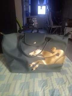 Authentic Longchamp gray