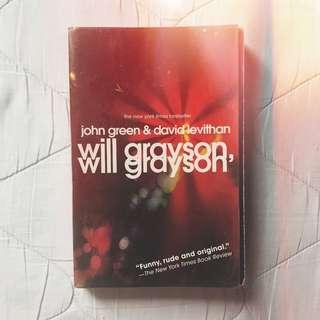 BOOKS FOR SALE: Will Grayson, Will Grayson