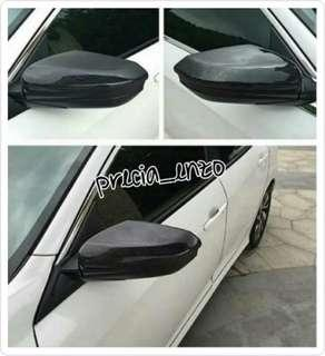 Honda Civic Gen 10 Carbon Fiber Side Mirror Covers