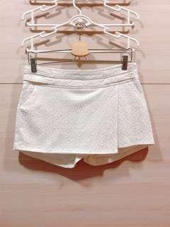 White Lace Skort