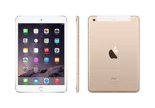 iPad mini 3 wifi+cellular (perfect condition)