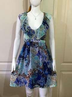 SO022 floral dress